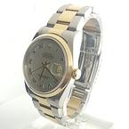 Rolex DateJust MOP Roman Dial 18K & Steel 16203 36mm Watch W/Paperwork