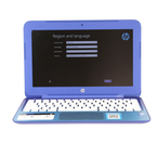 "HP Stream 11-d001dx Laptop - 11.6"" - 2.16GHz - 2GB RAM - 32GB SSD - Blue"