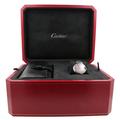 Cartier Balloon Bleu De Cartier 18K Rose Gold Pink 3489 MOP 33MM Ladies W6920070