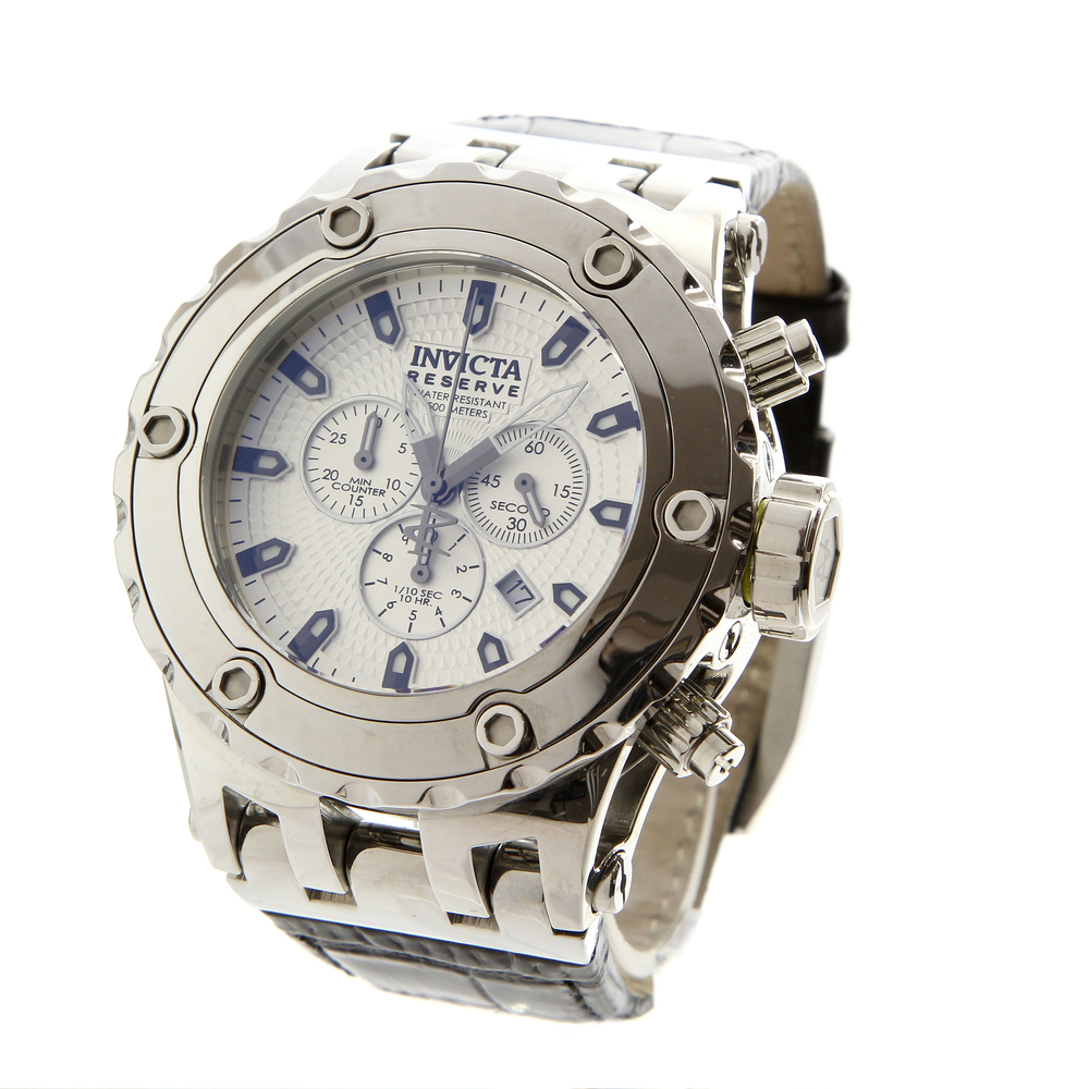 2c217b41836 Invicta reserve subaqua black leather band chronograph mens watch online  pawn shop out of pawn jpg