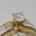 14k Gold Edwardian Vintage 0.50ct Diamond Ring Jewerly
