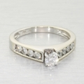 Dazzling Ladies .75ct Diamond 14k Gold Engagement Ring Matching Wedding Band Set