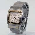 Men's Authentic Cartier Santos 2319 18k Gold SS Watch