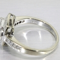 Stunning 14K White Gold Diamond Ring