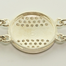 Brilliant Russian Collection Bracelet Silver 14K Gold