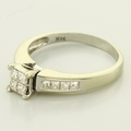 Sensational 14K White Gold Diamond Engagement Ring