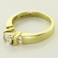 Timeless 14K Yellow Gold Diamond Solitaire Engagement Ring