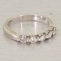 Marvelous Diamond 14K White Gold Wedding Anniversary Ring