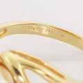 Lovely Pearl Diamond 14K Yellow Gold Fashion Ring