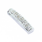 Spectacular 10K White Gold Ladies Diamond Pendant Jewelry