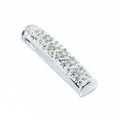 Spectacular Ladies 10K White Gold Diamond Pendant Jewelry
