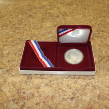 Authentic 1984 United States Olympic Silver Dollar Coin