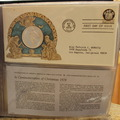 1978 Postmasters of America 18 Medallic First Day Covers in Book Silver Coins