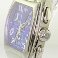 TechnoMarine Men's Stainless Steel Swiss-Made Quartz Chronograph Watch Blue Face