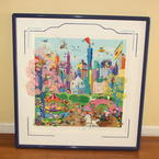 Melanie Taylor Kent Looney Tunes Take Manhattan Serigraph Art Original Signed