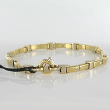 18K Gold Designer Bracelet w/ Diamond by BARAKA