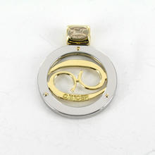 SAURO 18K Gold Italian Designer Cancer Zodiac Pendant