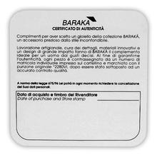 BARAKA European Designer 18K White Gold Cross Pendant