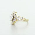 Sparkling Vintage 1.00ct Diamond 14k Yellow Gold Engagement Ring