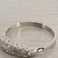 Stunning Edwardian Diamond Platinum Ring