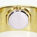 Authentic DKNY Gold Toned Stainless Steel Ladies Bangle Watch
