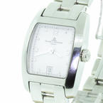 Authentic Baume Mercier Ladies Hampton Classic Stainless Steel Watch MVO45181