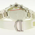 Authentic Cartier Men's Must 21 Chronoscaph Stainless Steel Rubber Band Watch