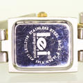 Charming Ladies Stainless Steel LEI Quartz Two Tone White Face Watch