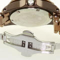 Invicta Ladies Ceramics Watch - All Metallic Brown - 200 Meters - Date