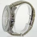 Breitling Super Avenger Men's Chronograph Stainless Steel White  Diamond Watch