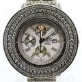 Breitling Super Avenger Men's Chronograph Stainless Steel White  Diamond Watch