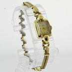 Gerard Perregaux Ladies Vintage 14K Yellow Gold Case Stainless Steel Band Watch
