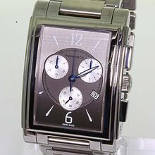 Authentic Tiffany & Co. Men's Chronograph Stainless Steel Grey Face Watch