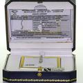 Dazzling Ladies 14K White Gold Diamond Journey Pendant Necklace IGI Certificateg