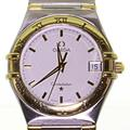 Authentic Men's Omega Constellation 18K Yellow Gold Stainless Steel Watch