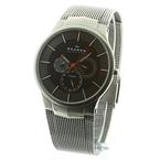 Skagen Denmark Men's Titanium Grey Multifunction Watch Mesh Bracelet
