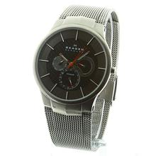 Skagen Denmark Men's Titanium Grey Multifunction Watch Mesh Bracelet