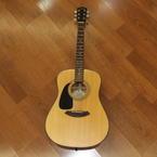 2006 Fender CD-100 LH Left Handed Natural Acoustic 6 String Guitar