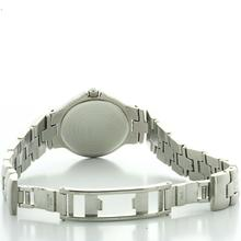 Authentic Ladies Movado Stainless Steel White Face Roman Numeral Watch