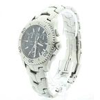 Authentic Tag Heuer Men's Stainless Steel Link Chronograph Watch Model CJ1110