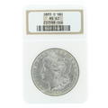 Spectacular 1883-O Morgan Silver Dollar Coin NGC Certified Grade Mint State 63