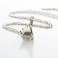 Dazzling Ladies Vintage Silver 875/925 Russina White Pearl Pendant Necklace