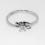 Exquisite Ladies 18k White Gold Ring Jewelry