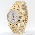 Superb 18K Yellow Gold Waldan International Chronametre Chronograph Mens Watch
