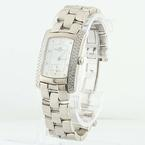 Baume Mercier 18K White Gold Hampton Diamond Ladies Watch