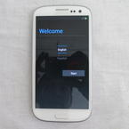 Samsung Galaxy S3 III SPH-L710 16GB Sprint Smartphone Marble White