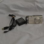 Nikon Coolpix S6100 16.0 MP Silver Digital Camera Point & Shoot Touchscreen
