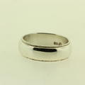 925 Sterling Silver  Lustrous Men's Ring Band Size 11.75