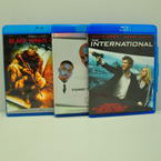 Blu-ray Movie Bundle (Blu-ray Disc, Belly, The International, Black Hawk Down)
