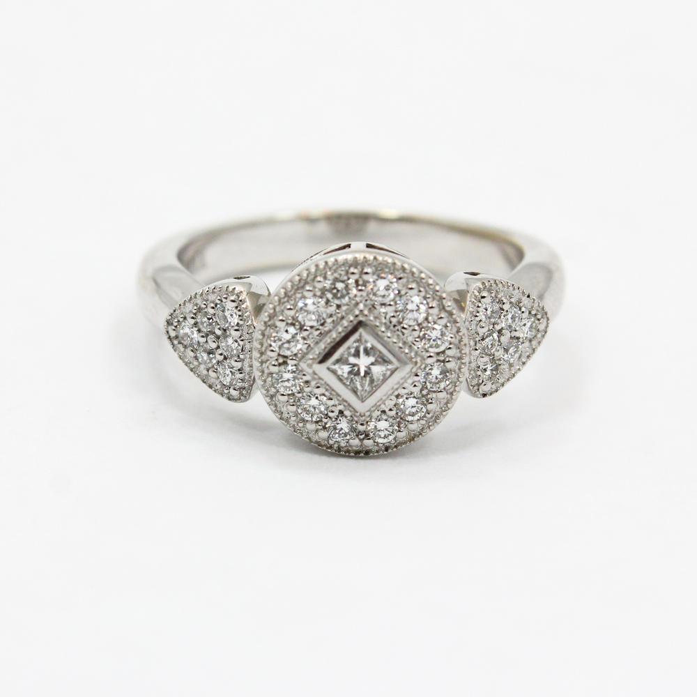 Authentic Ladies Philippe Charriol 18K White Gold Diamond 0.30CTW ...